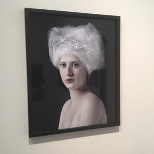 Bubble wrap by Hendrik Kerstens on display on a white wall