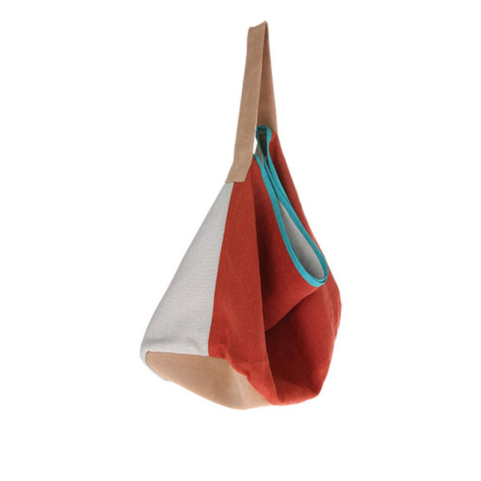 artsy bag by HK living USA made of linen in terra