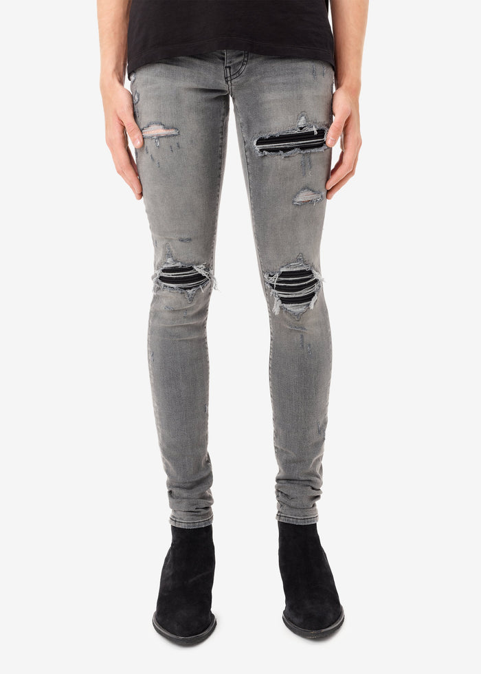 Exclusive MX1 Ultra Suede Repair Jean - Classic Grey