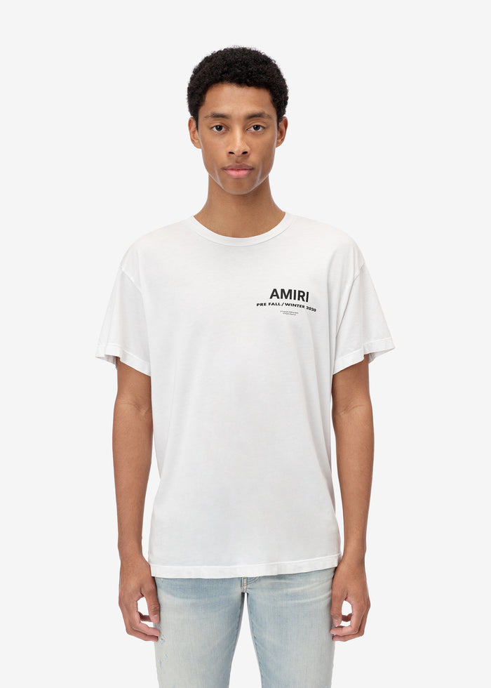 PF20 AMIRI Tee Web Exclusive - White