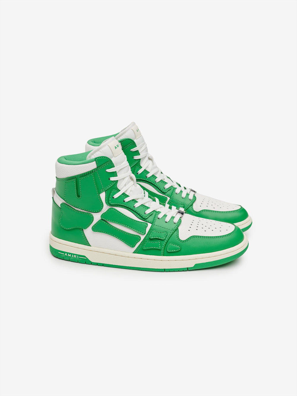 SKEL TOP HI - GREEN / WHITE
