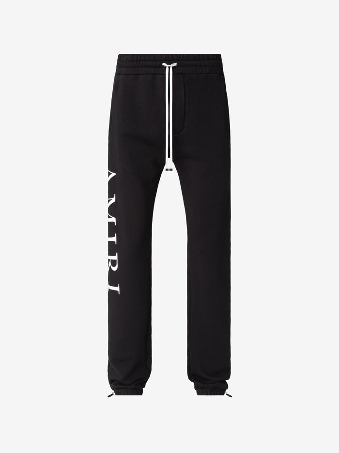 Large AMIRI Logo Sweatpants - Black