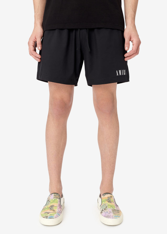 AMIRI Core Swim Trunks - Black