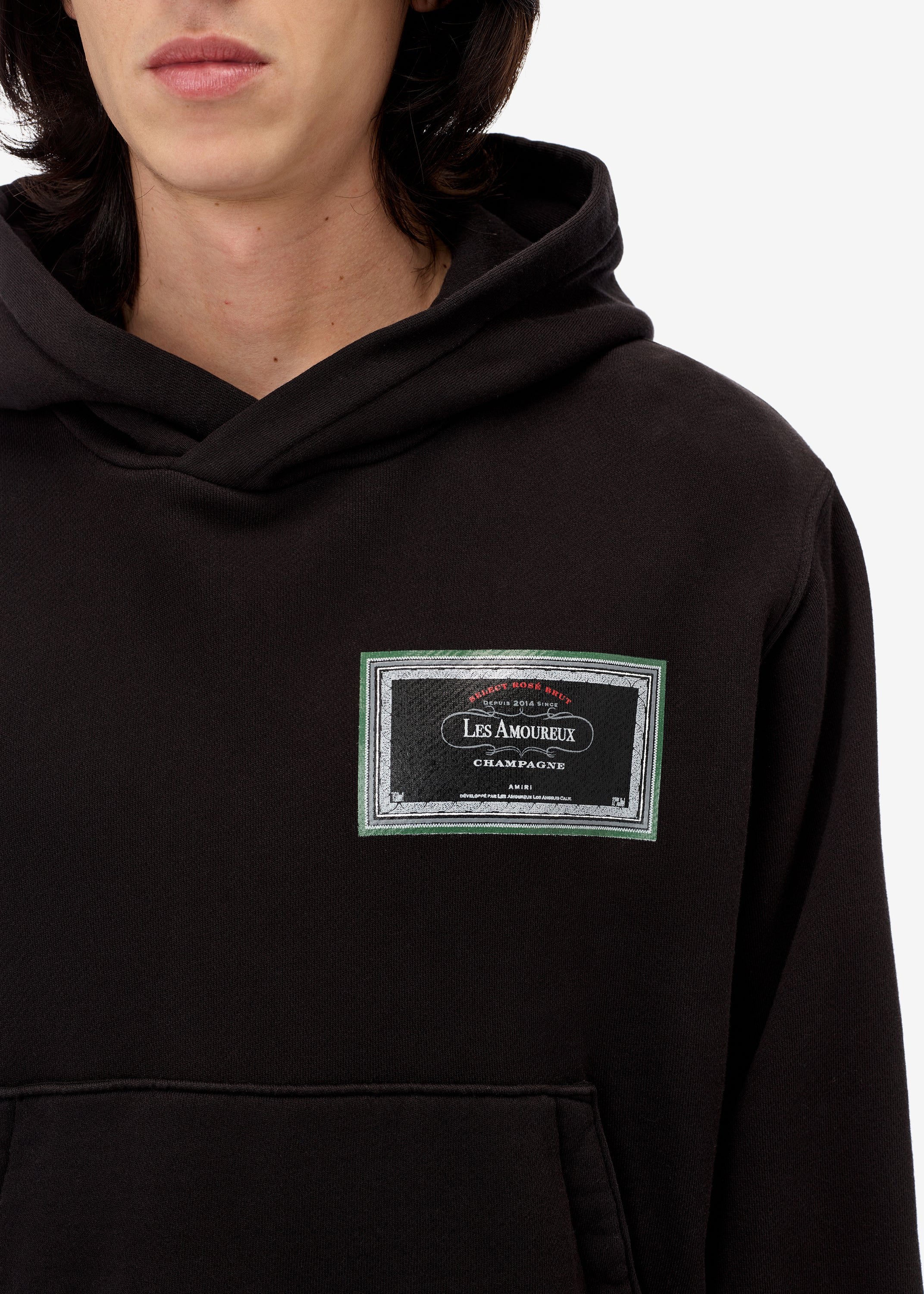 les-amoureux-gel-label-hoodie-web-exclusive-black-image-4