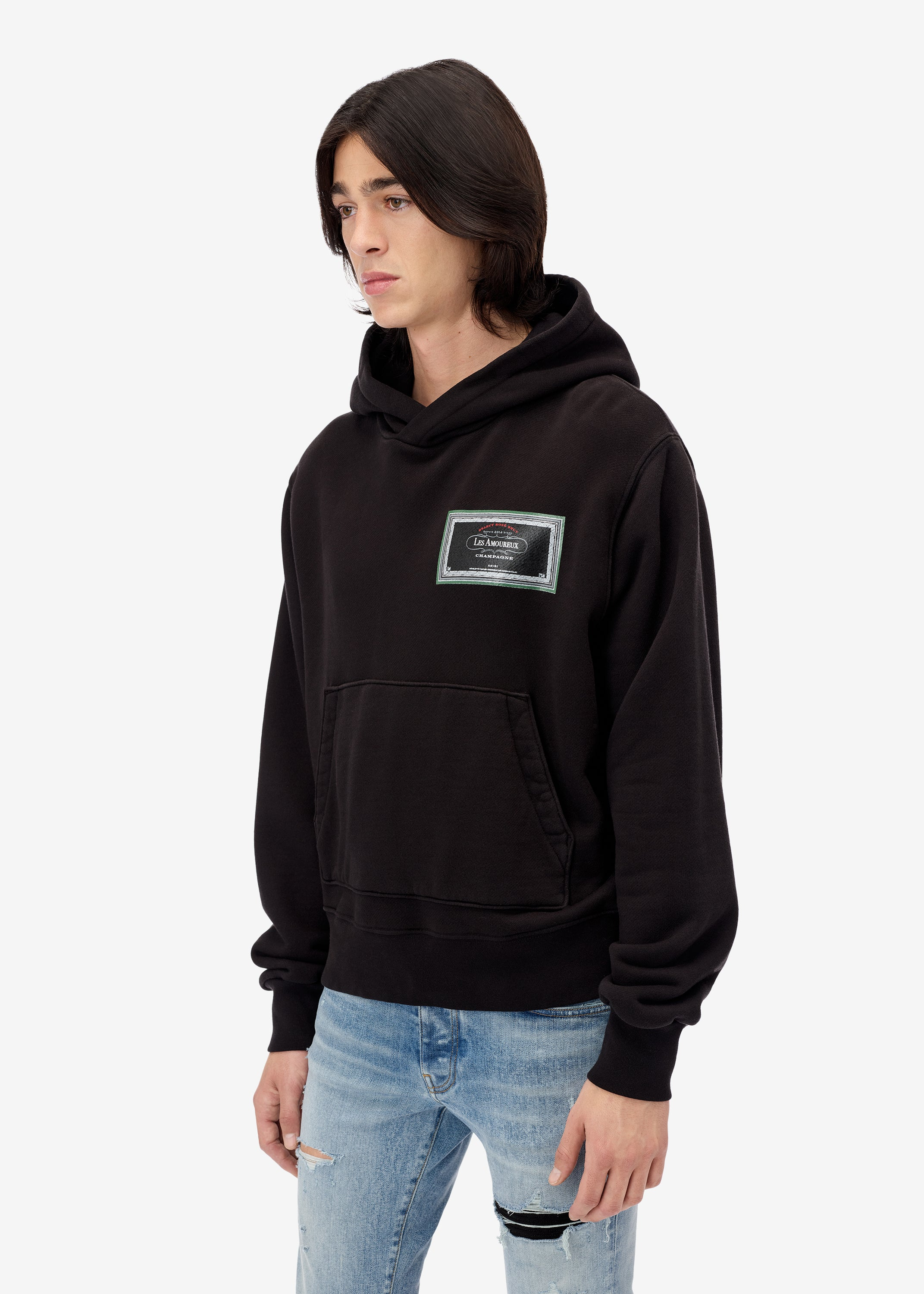 les-amoureux-gel-label-hoodie-web-exclusive-black-image-2