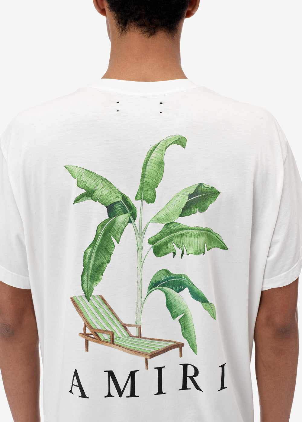 Banana Tree Tee - White