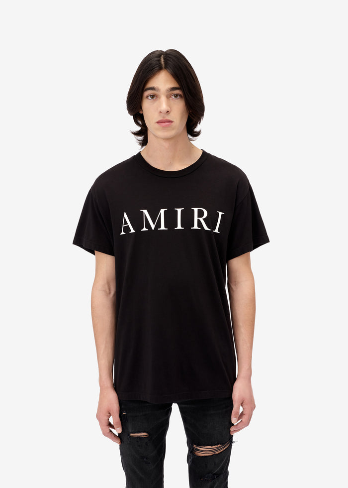 Large AMIRI Logo Tee - Black