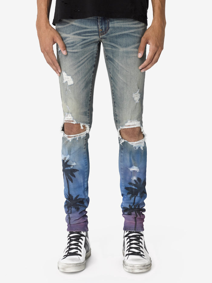 Night Palm Thrasher Jean Classic Indigo