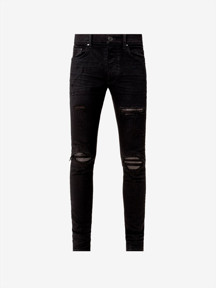 Quilted Leather Jean Animation - Black