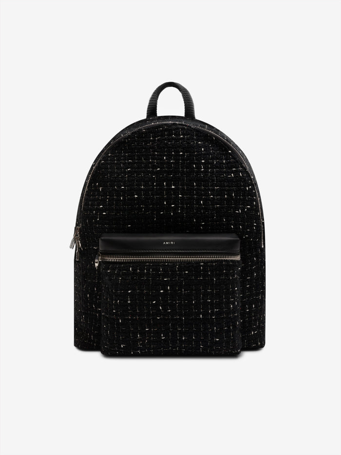 Boucle Classic Backpack - Black / Black / Silver