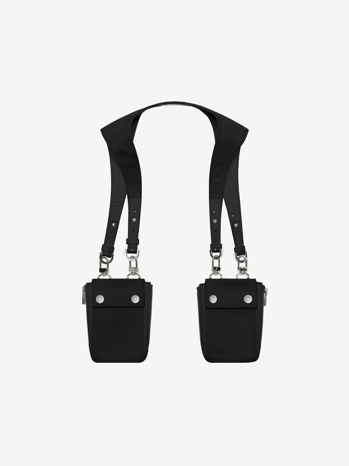 Nylon Harness Bag - Black