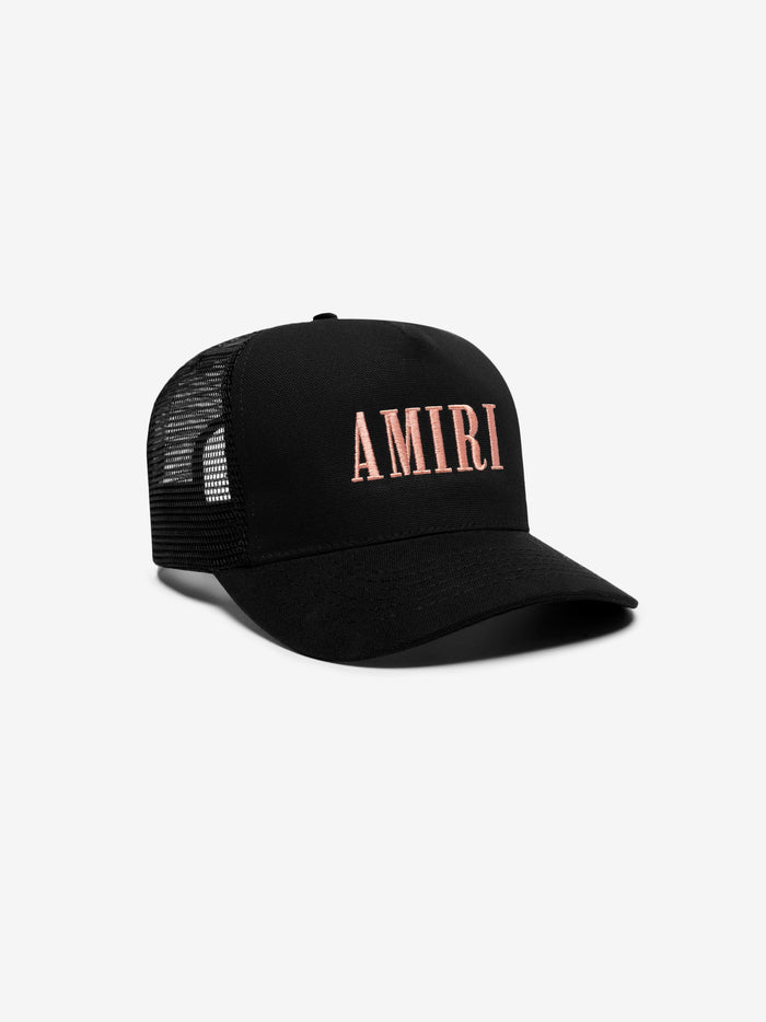 AMIRI Core Trucker Hat - Black