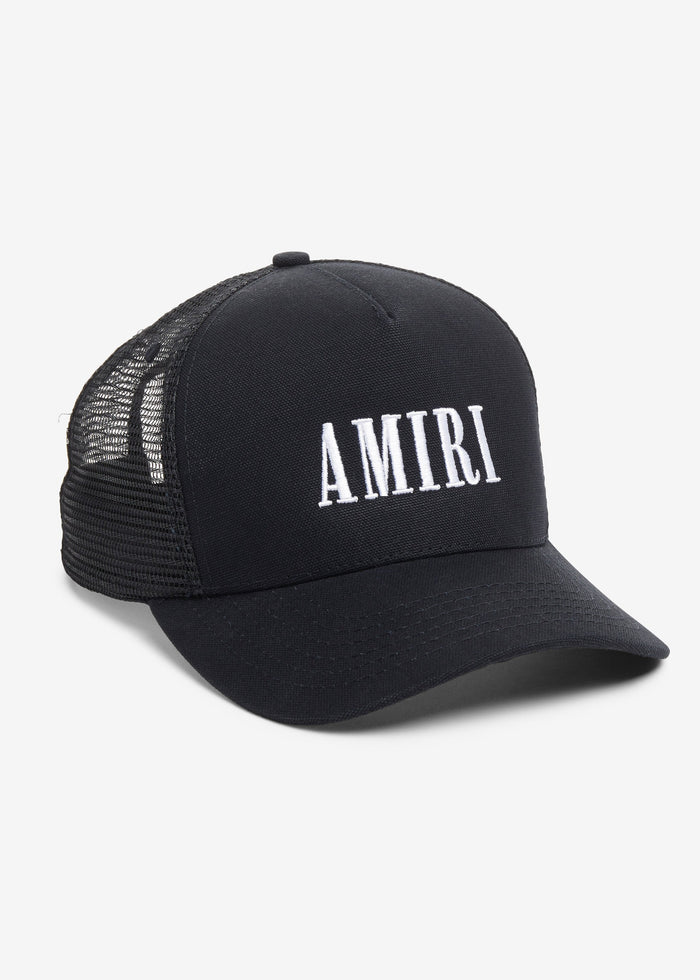 AMIRI Core Trucker Hat Web Exclusive - Black / White