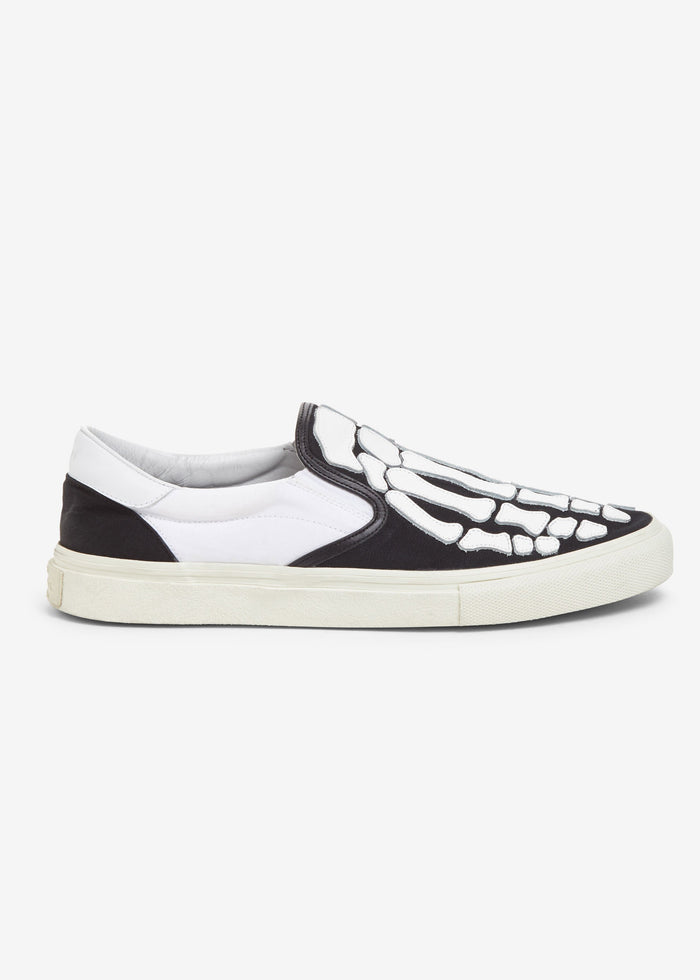 Skel Toe Slip On - Black / White