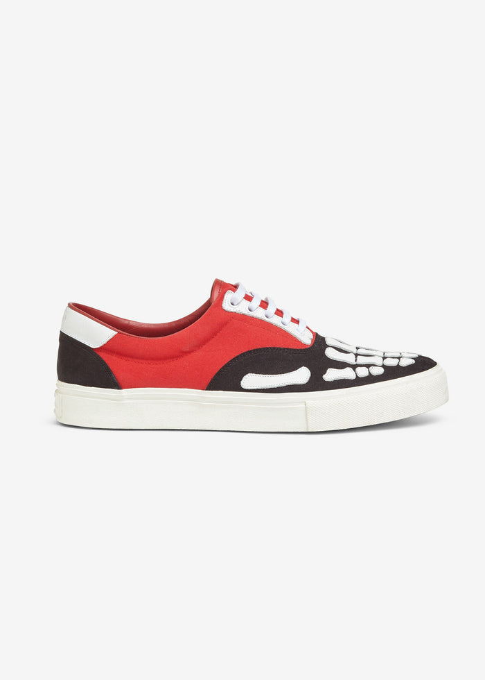 Skel-Toe Lace Up - Black/Red/White