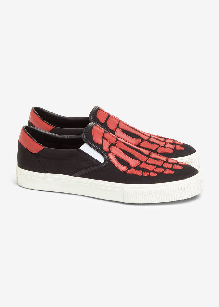 Skel-Toe Slip On Web Exclusive - Black/Black/Red