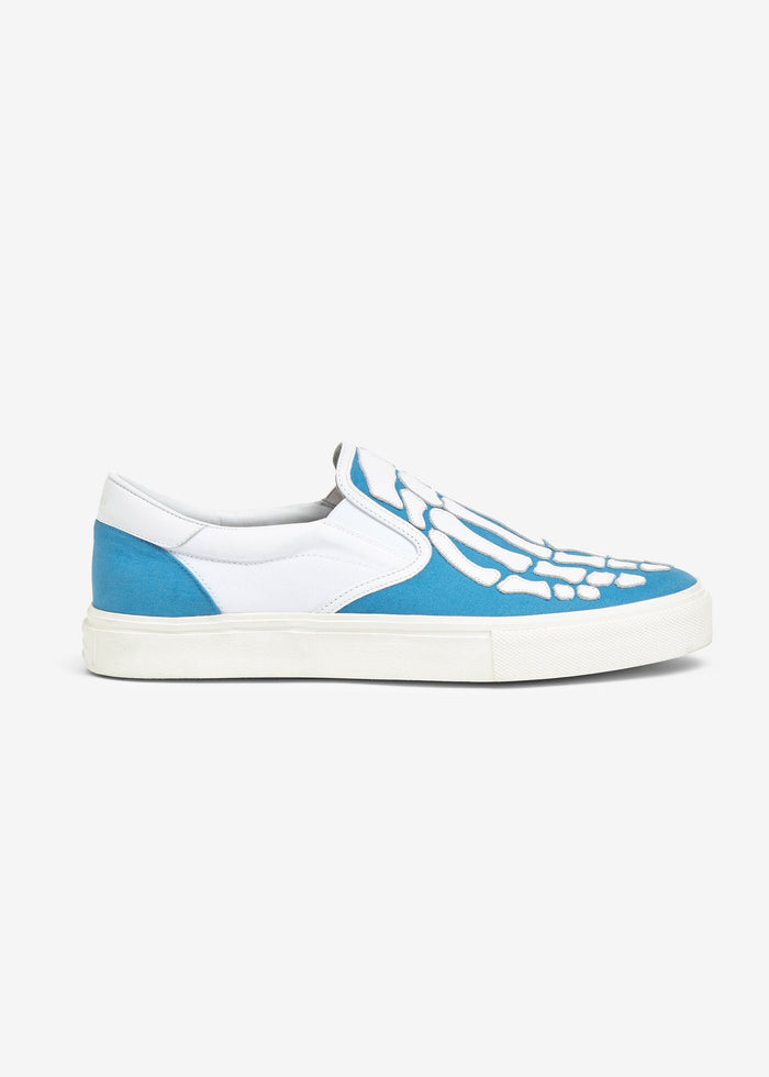 Skel-Toe Slip On - Blue/White/White
