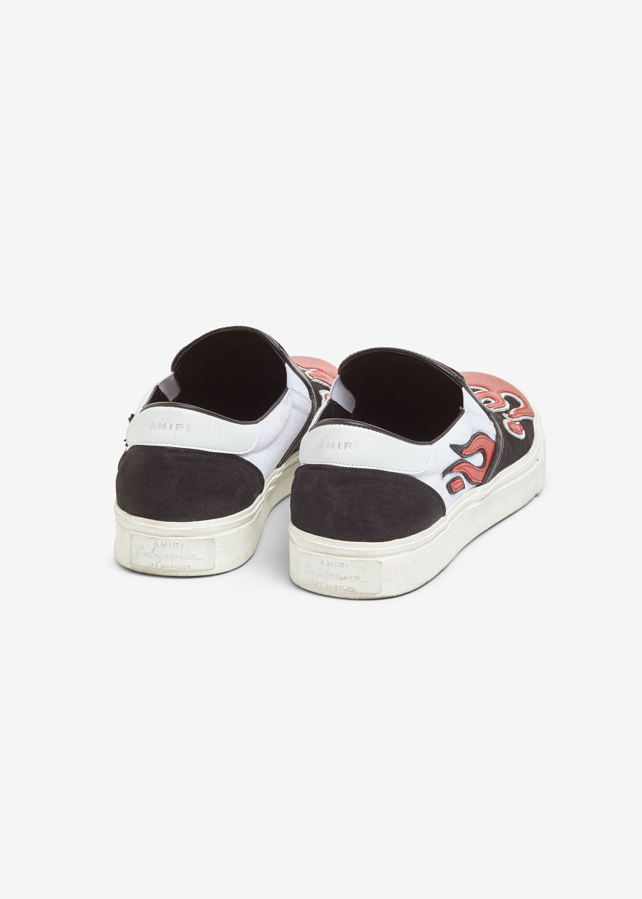 flame-slip-on-black-white-red-image-3