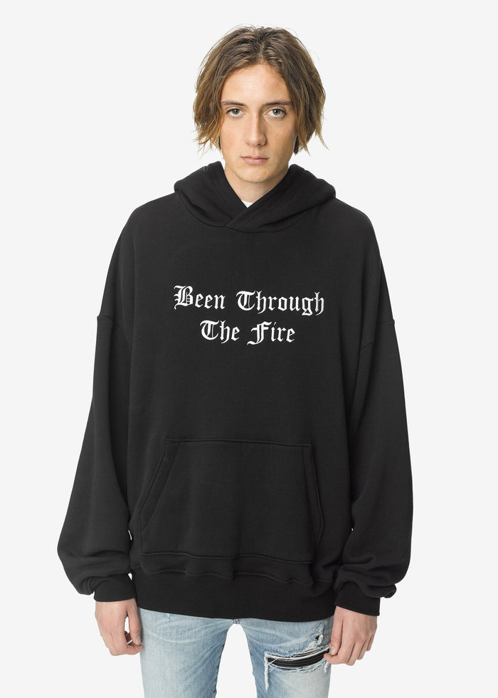 Been Through The Fire Hoodie - Black