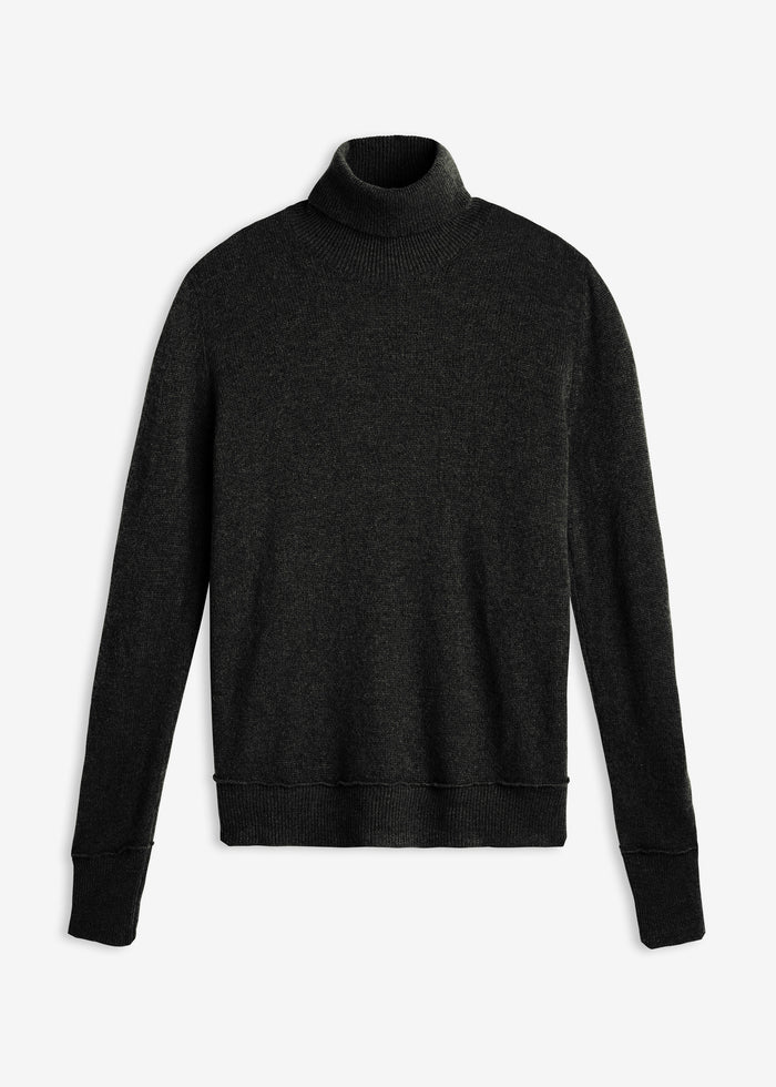 Turtleneck Knit - Black