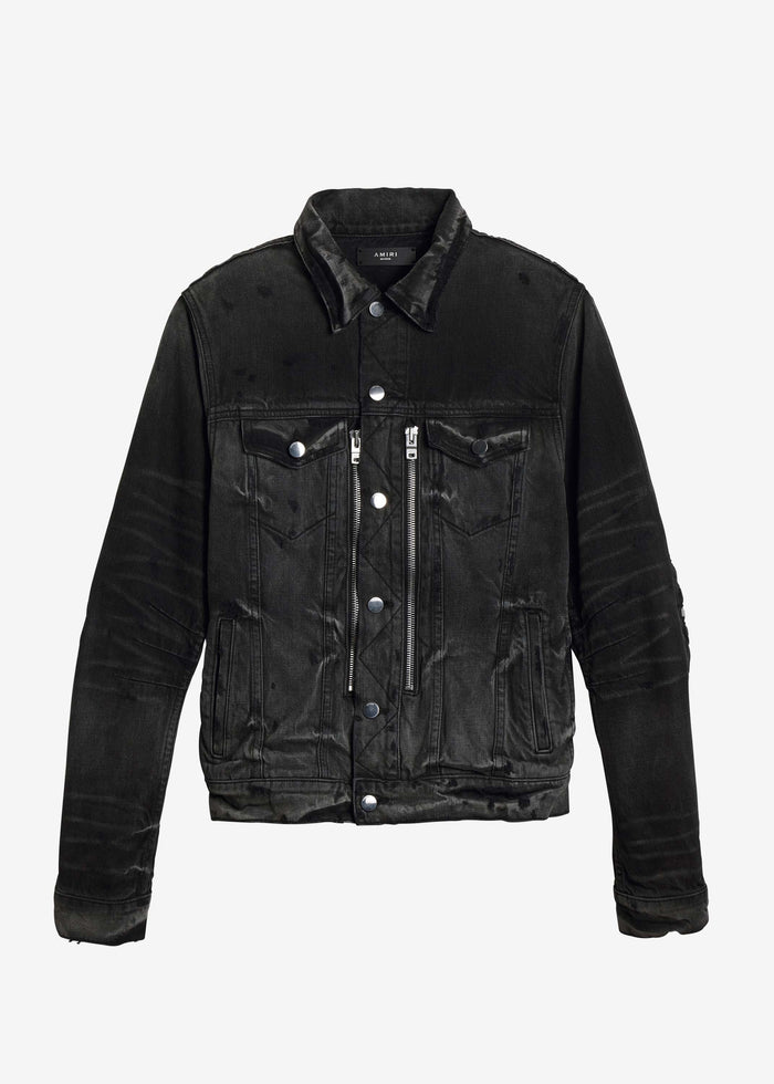 MX2 Trucker Jacket - Antique Black
