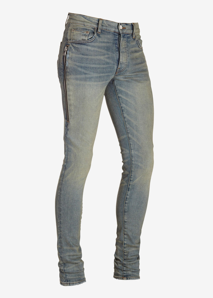Half Track Denim - Dust Indigo