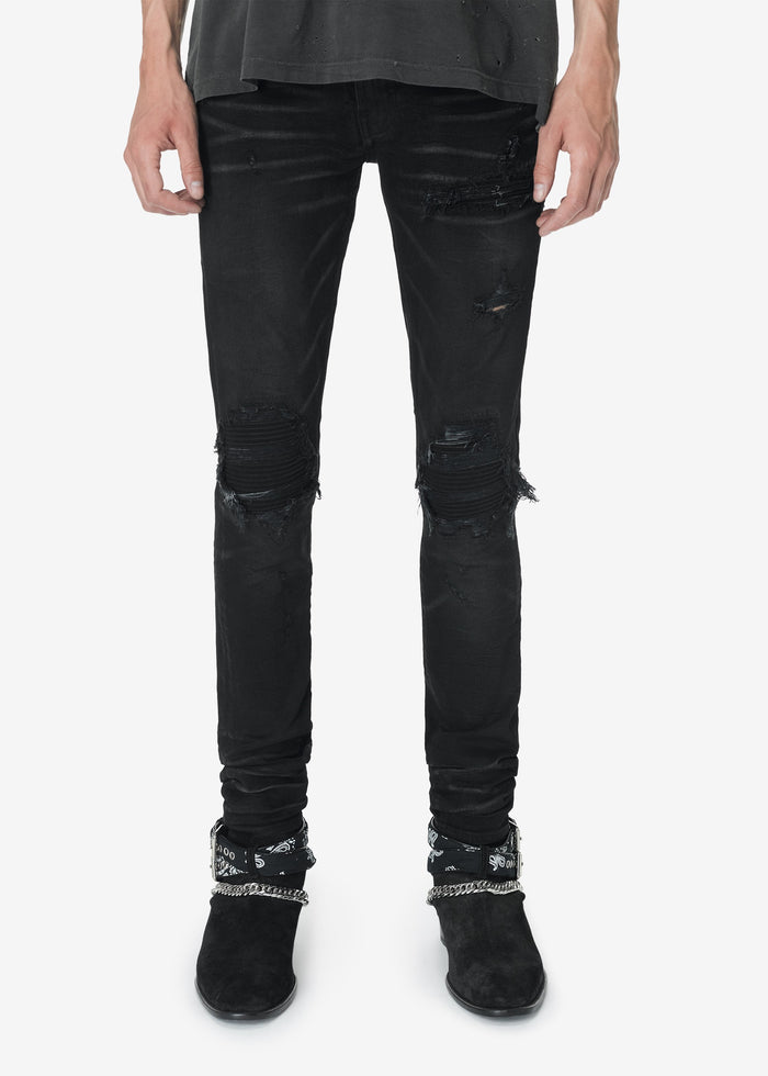 Tonal Denim MX1 - Rough Black