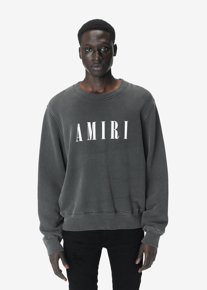 AMIRI Core Crewneck - Vintage Black/White