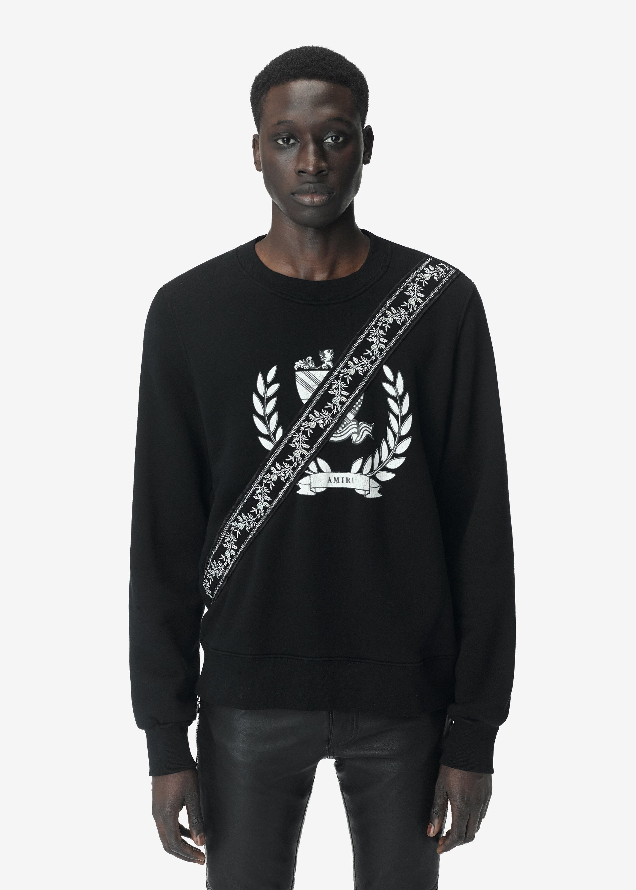 crest-guitar-strap-crewneck-web-exclusive-black-image-1