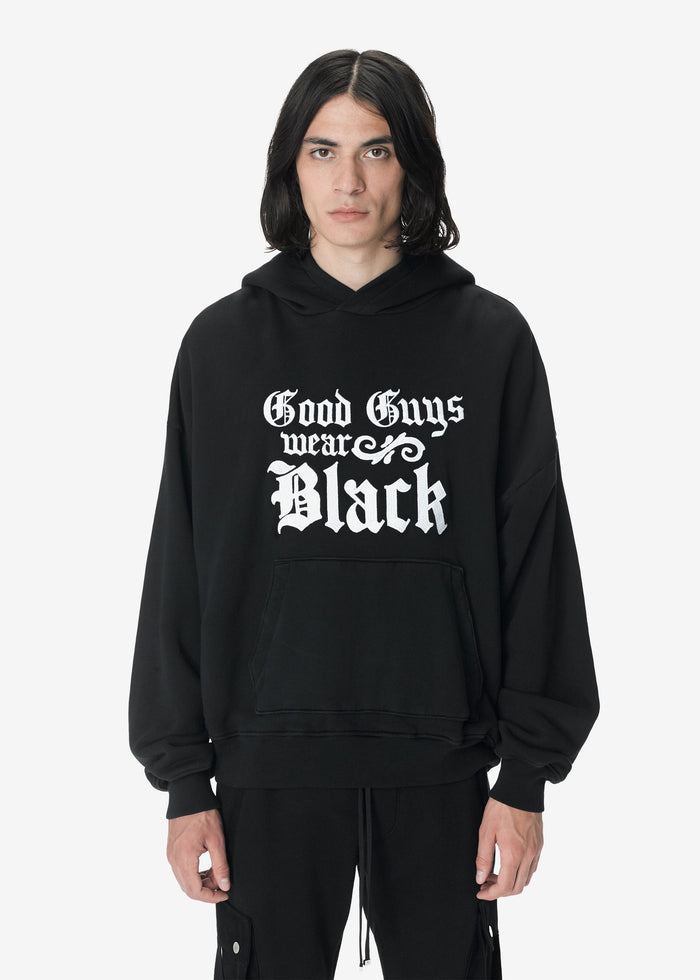 Good Guys Hoodie - Black/White