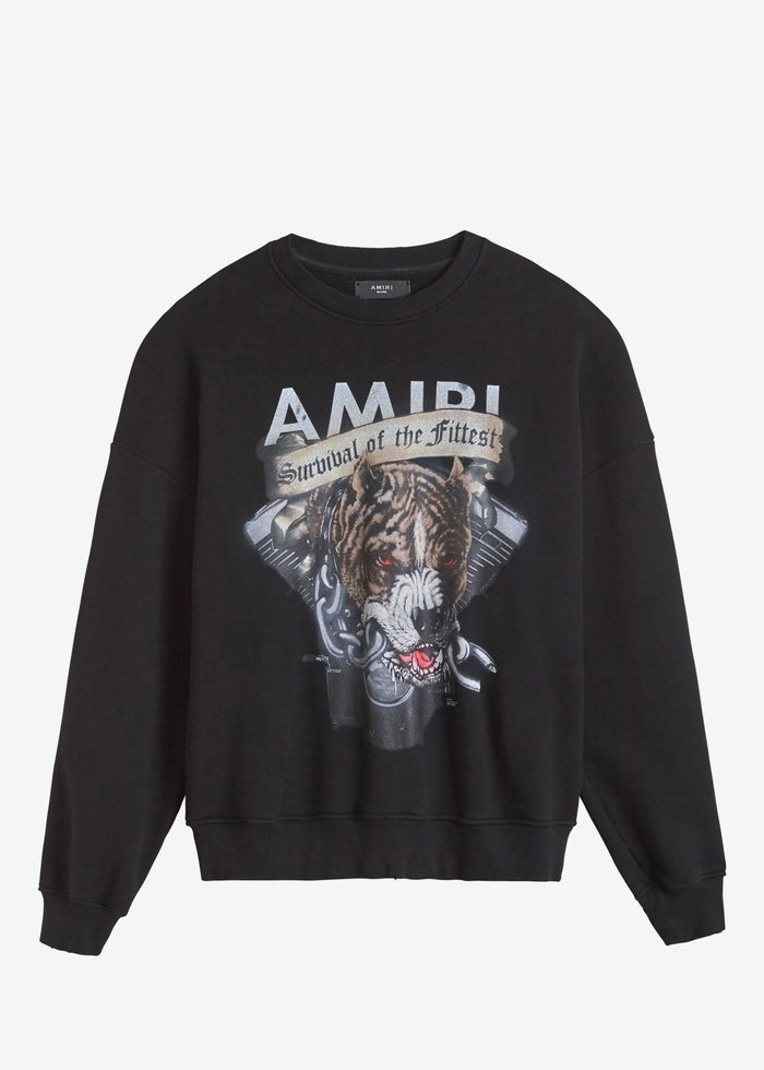 Pitbull Crewneck - Black