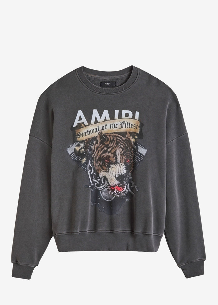 Pitbull Crewneck - Vintage Black