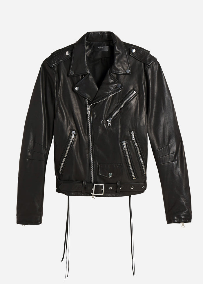 Lightweight Biker Jacket - Black