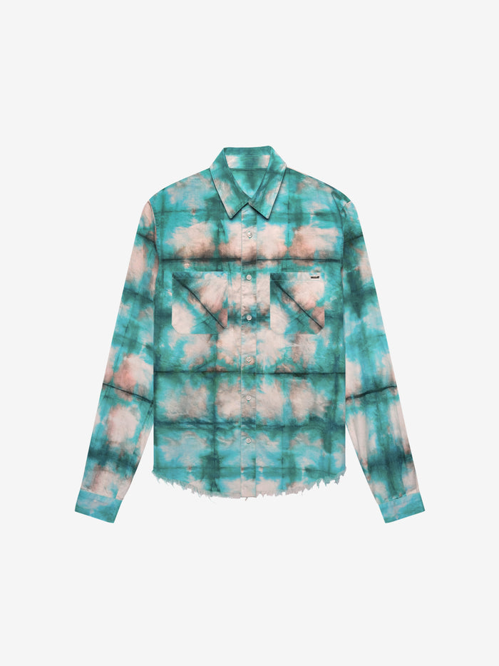 Watercolor Plaid - Blue