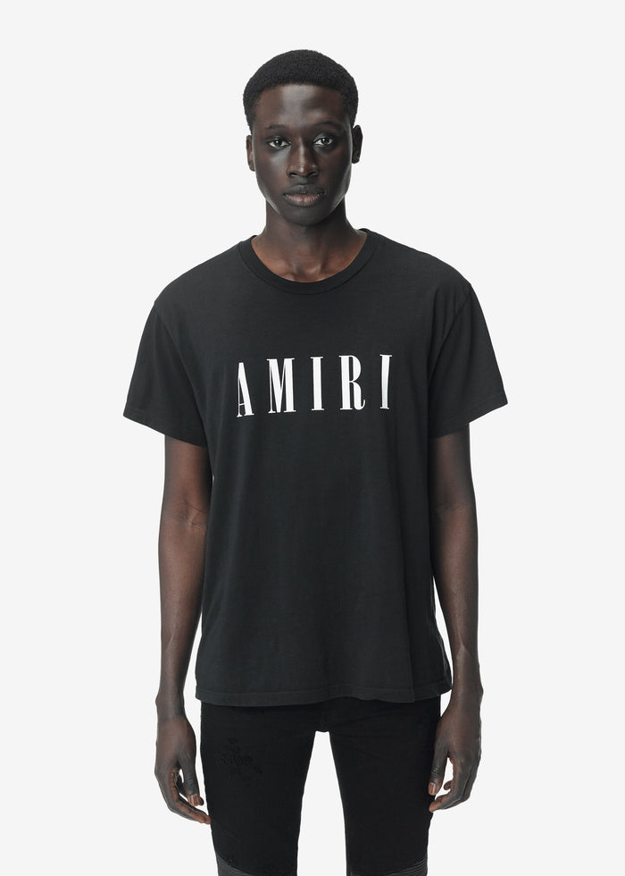 AMIRI Core Tee - Black/White