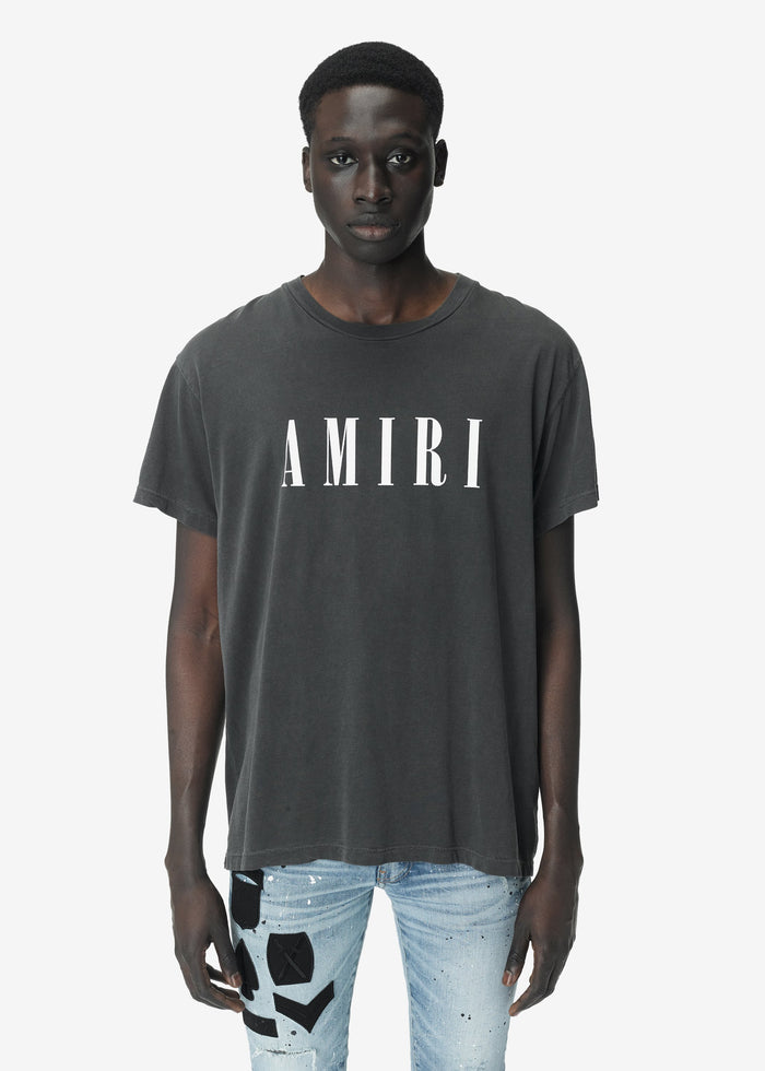 AMIRI Core Tee - Vintage Black/White