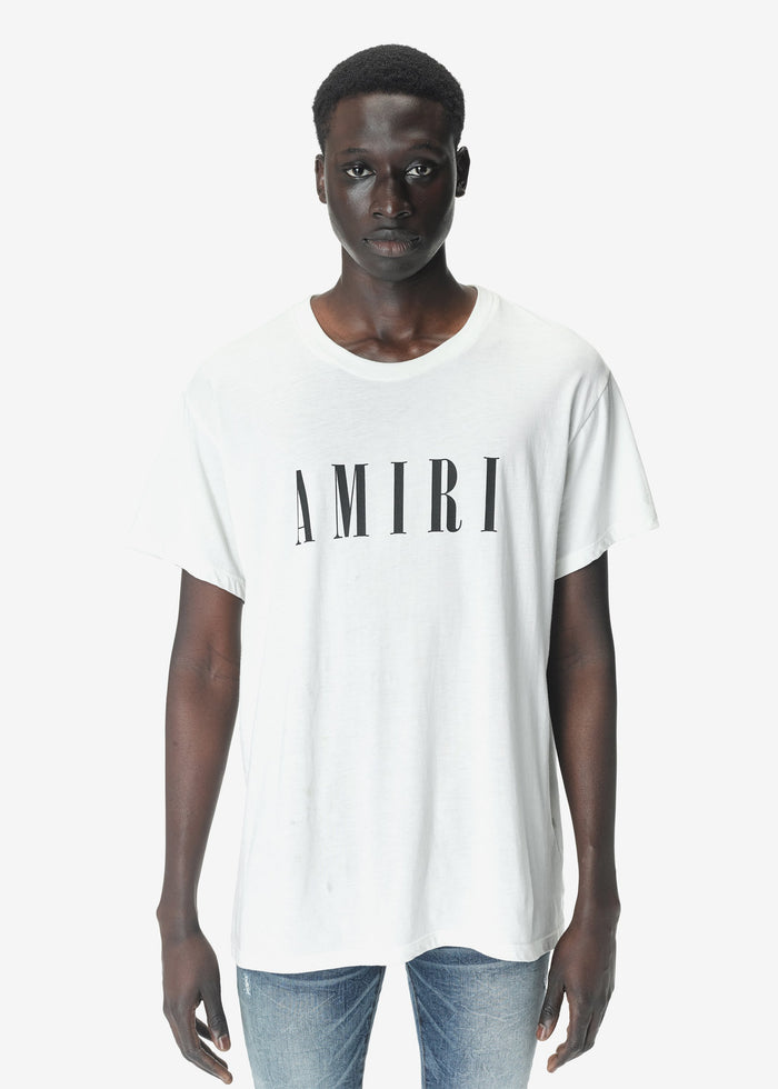 AMIRI Core Tee - White/Black
