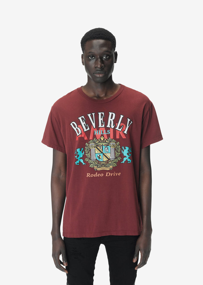 Beverly Hills Tee Web Exclusive - Burgundy