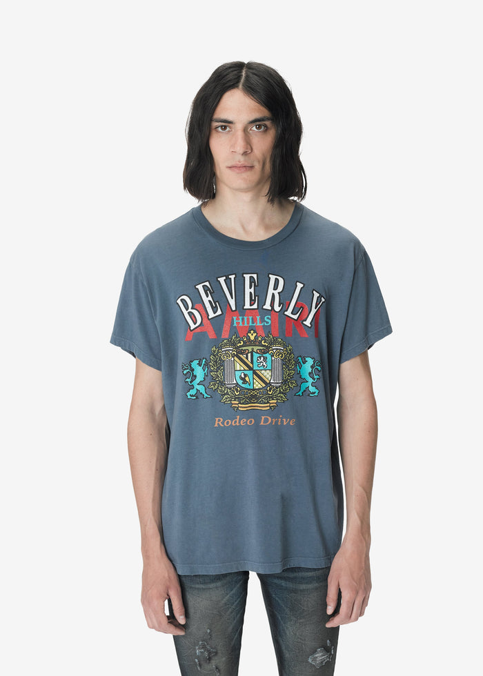 Beverly Hills Tee Web Exclusive - Slate Blue