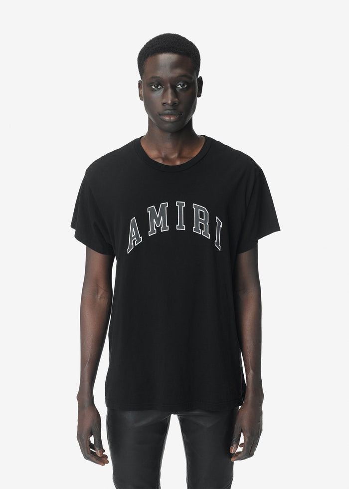 College AMIRI Tee - Black