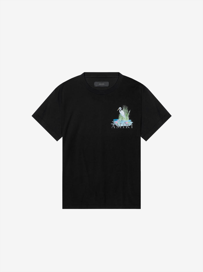 Standing Egret Tee Web Exclusive - Black