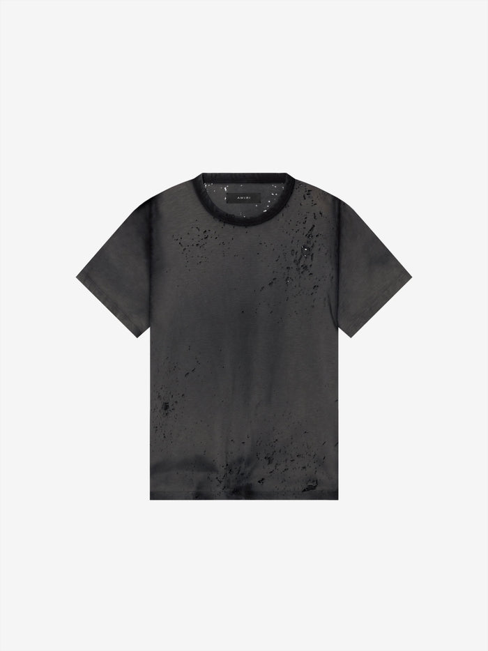 Washed Shotgun Tee - Black