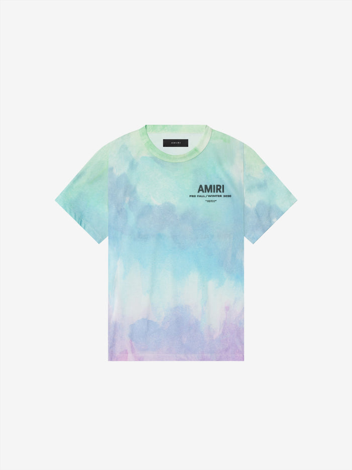 Watercolor PF20 AMIRI Tee - Multi-Color