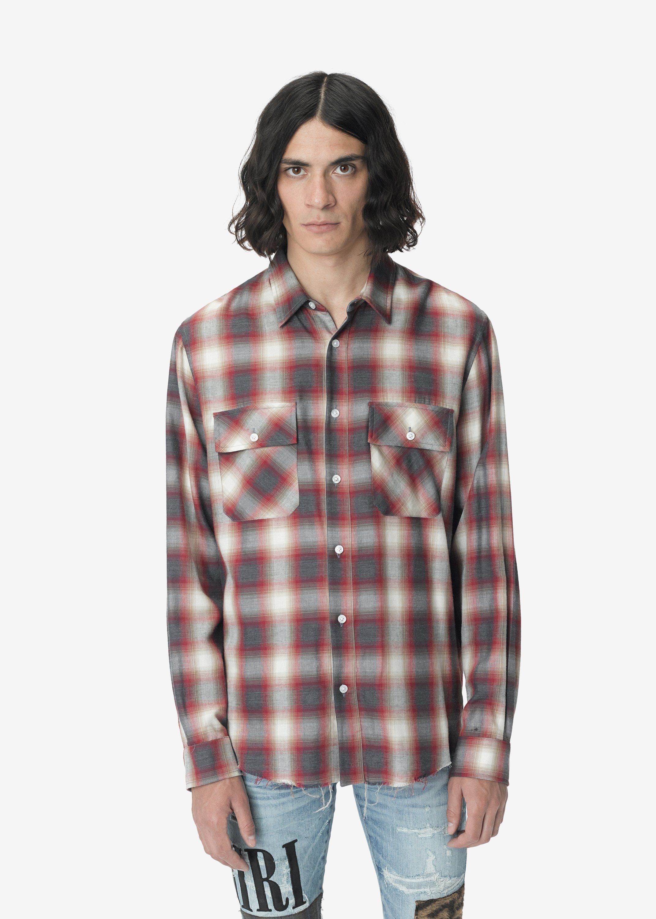 amiri-flannel-shirt-red-white-image-1