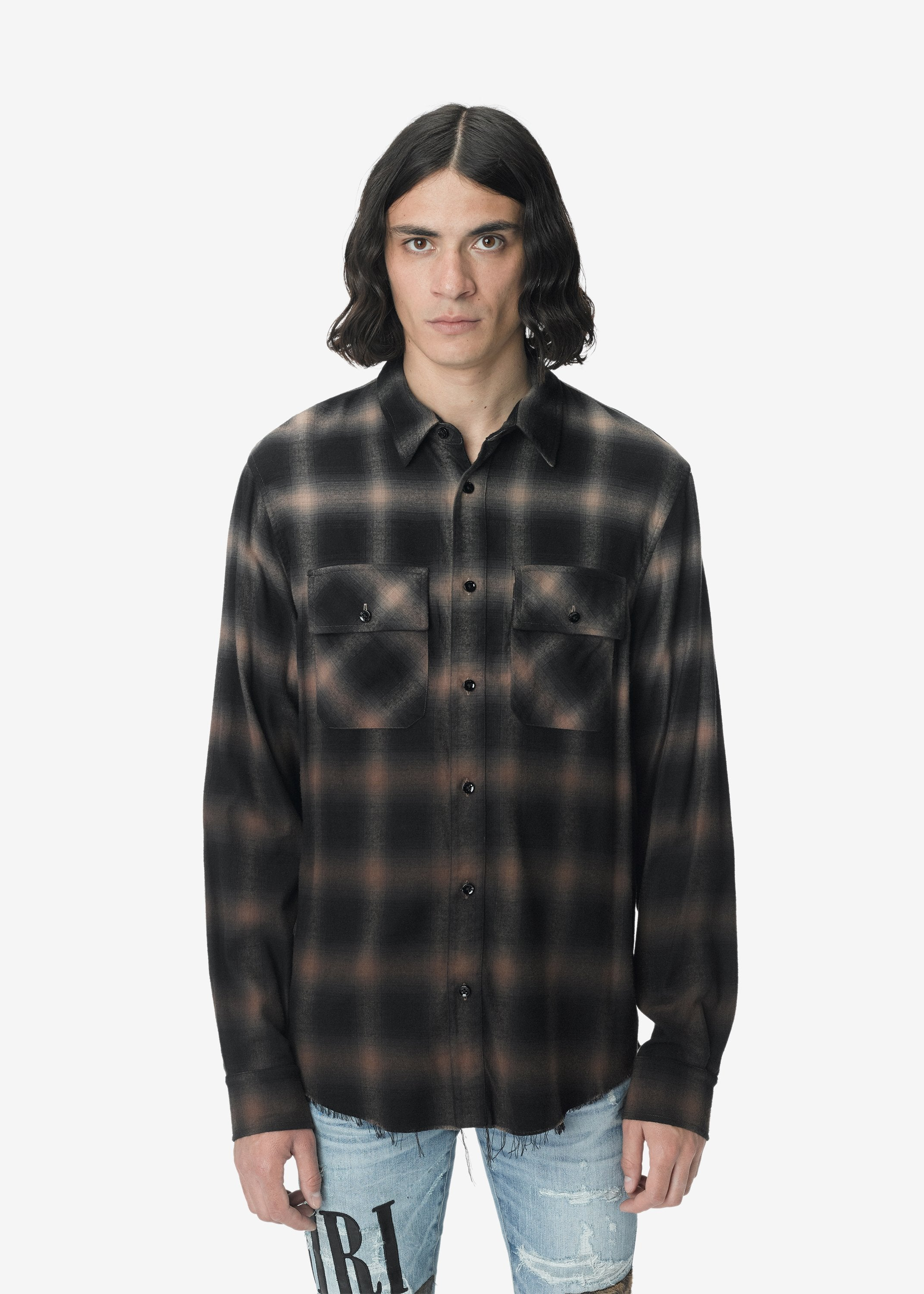 ombre-plaid-shirt-khaki-image-1