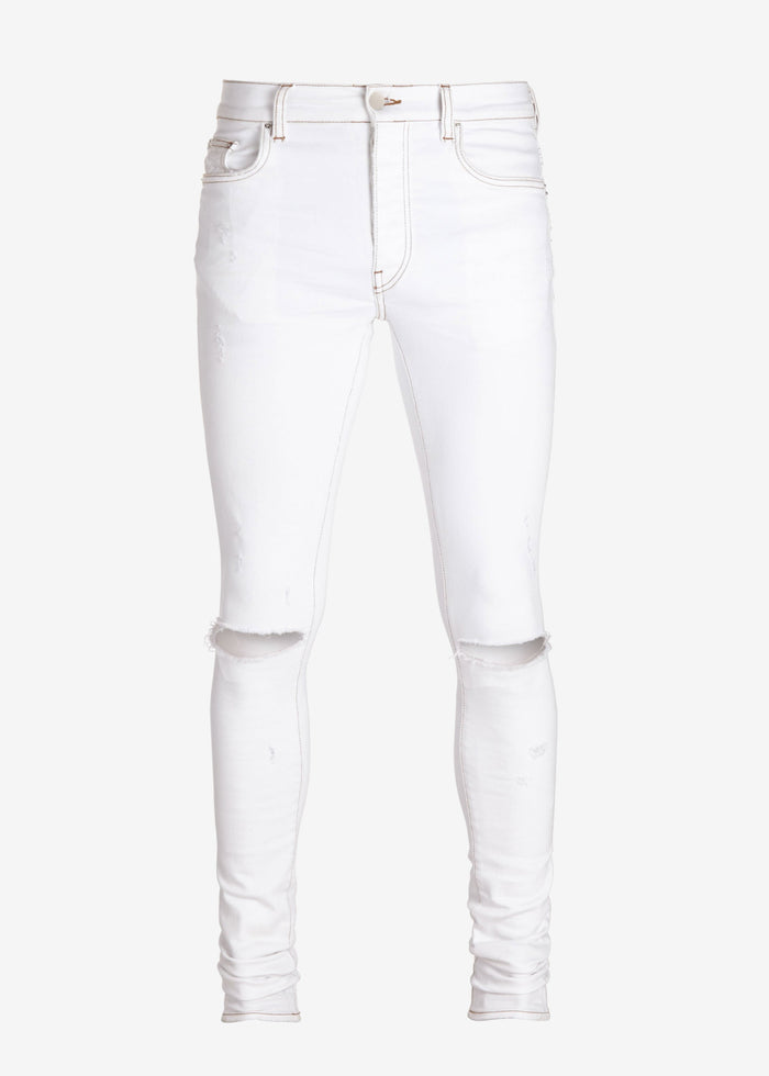 Slash Jean - Vintage White
