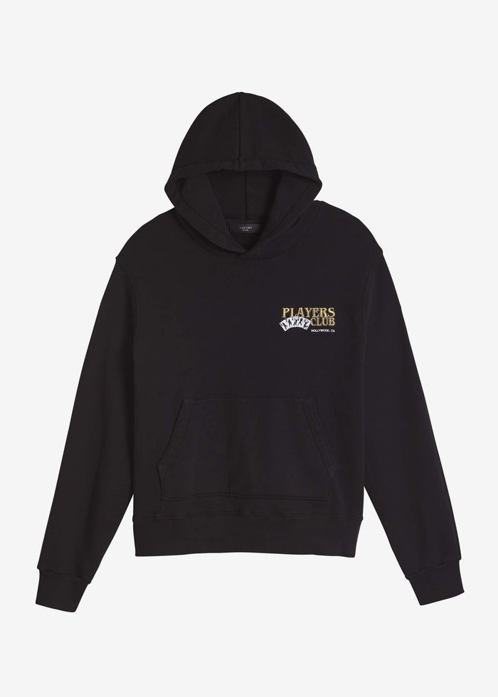 Players Club Hoodie - Black