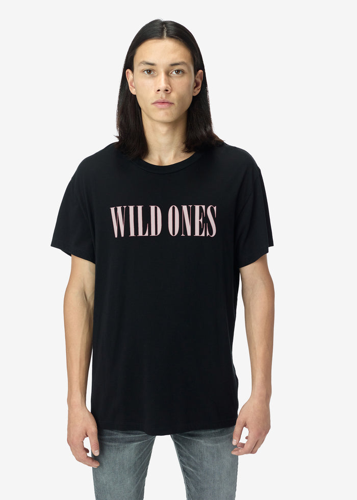 Wild Ones Tee Web Exclusive - Black / Salmon