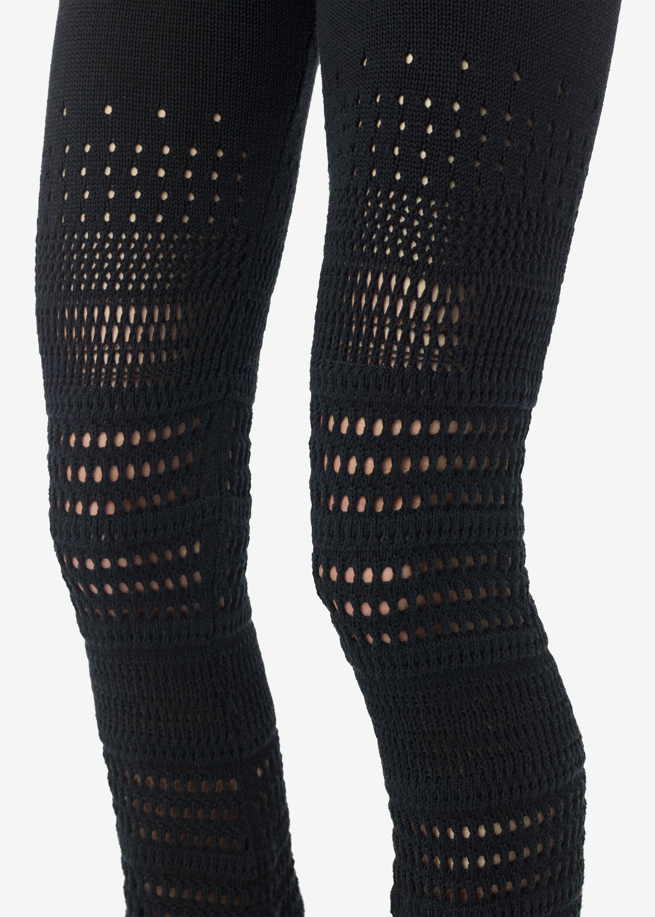 checkered-crochet-flare-pants-black-image-4
