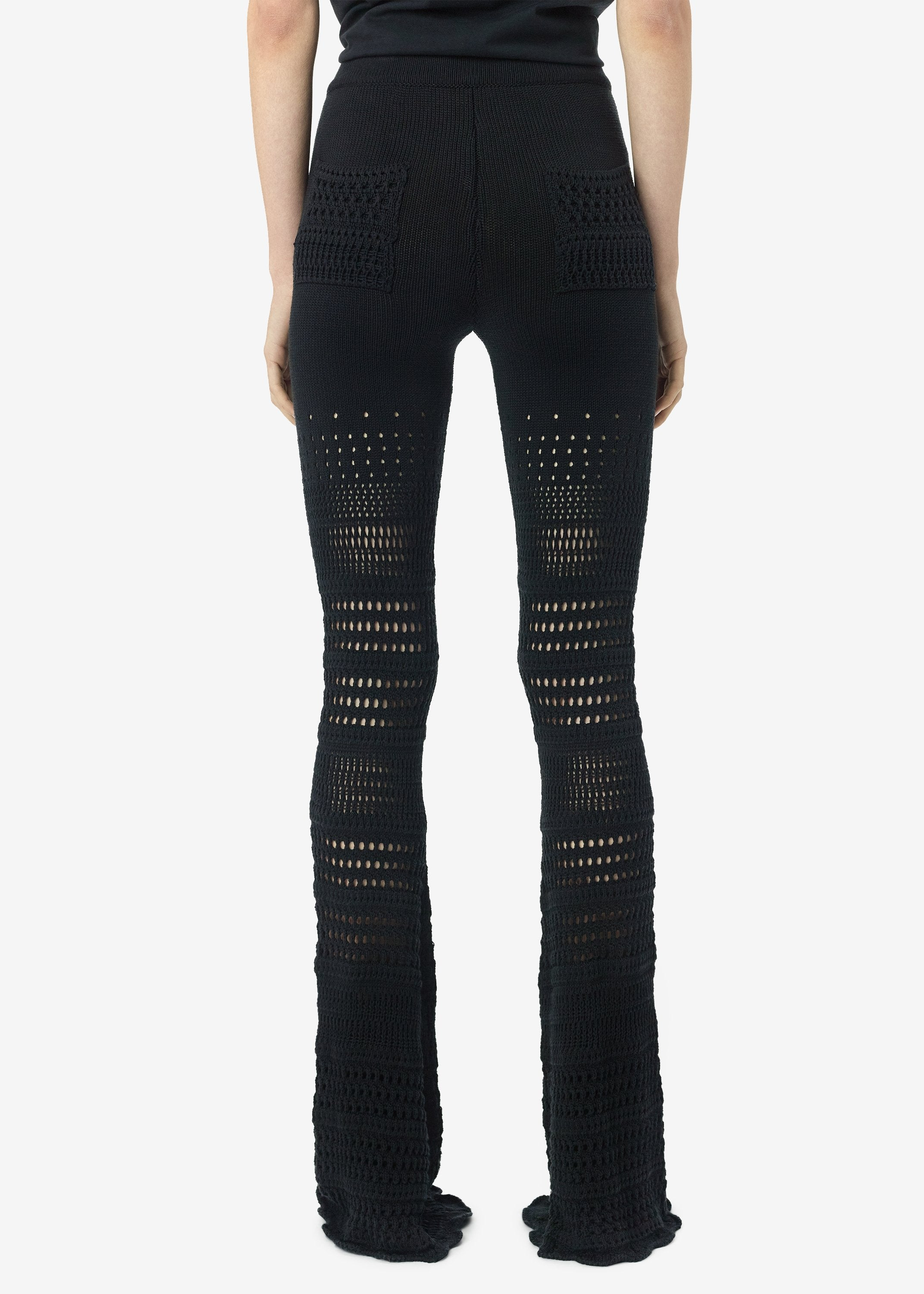 checkered-crochet-flare-pants-black-image-3